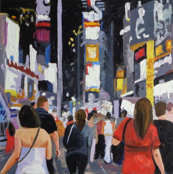 Times Square, private collection