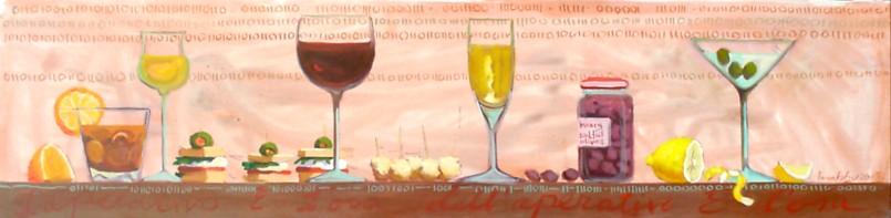 Binary Cocktail 30 x120