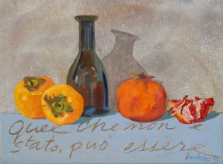 Cacchi 30x40 cm, oil on canvas