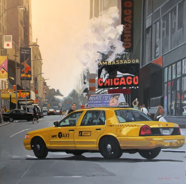 Private Eyes Taxi, private collection