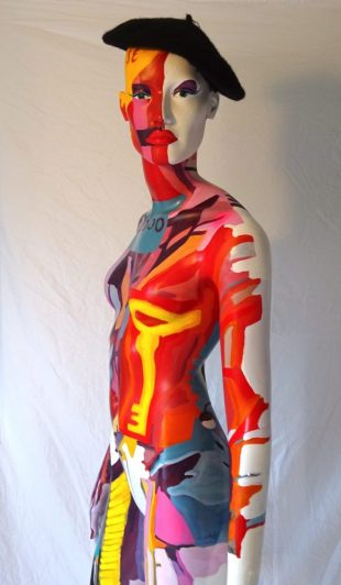 polychrome mannequin by Angie Brooksby