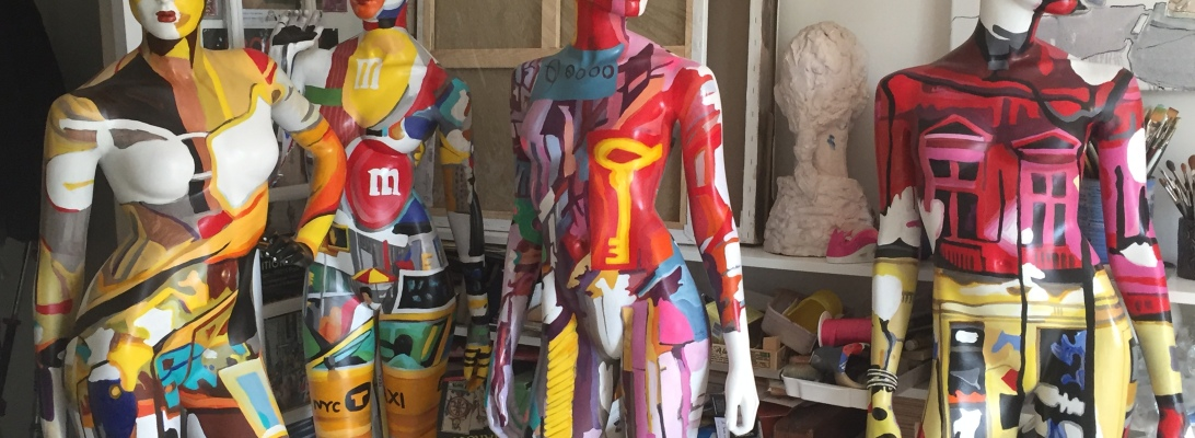 polychrome mannequins