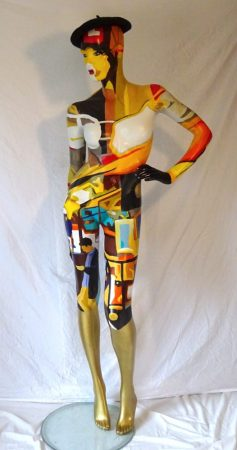 polychrome mannequin