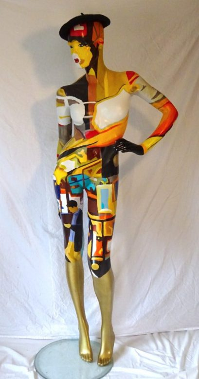 polychrome mannequin