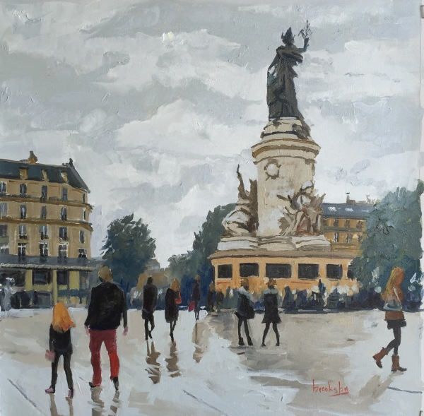 Place de la Republique, private collection, USA
