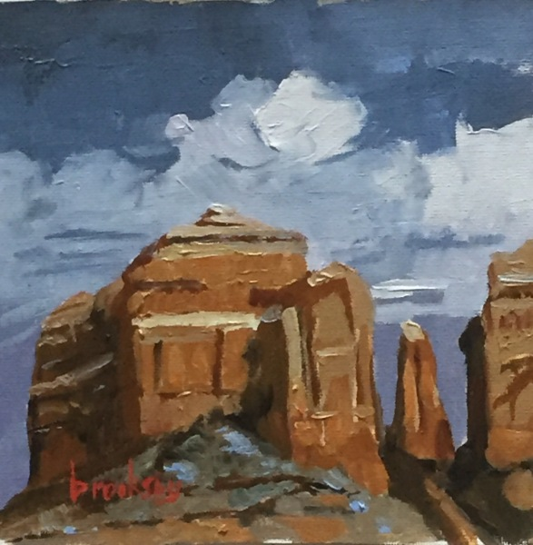 Cathedral rock, private collection, USA
