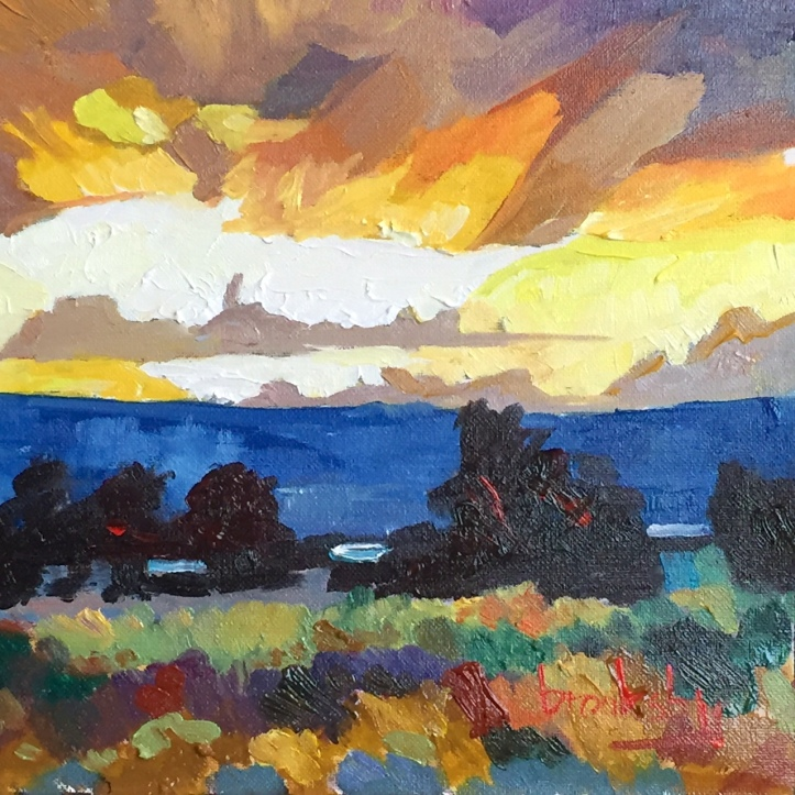 4 13x13cm, oil on canvas, ©2017 Angie Brooksby-Arcangioli