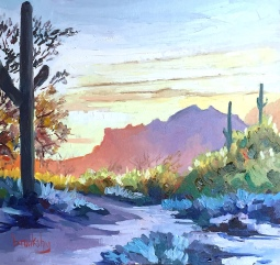 Sedona Sunset, private collection, USA