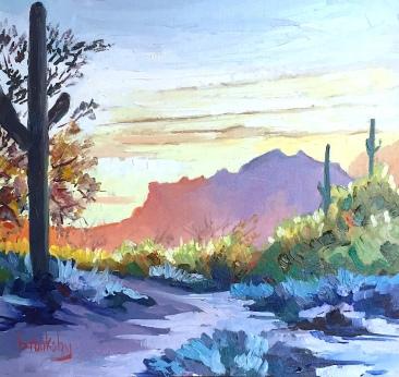 3 25x25cm, oil on canvas, ©2017 Angie Brooksby-Arcangioli