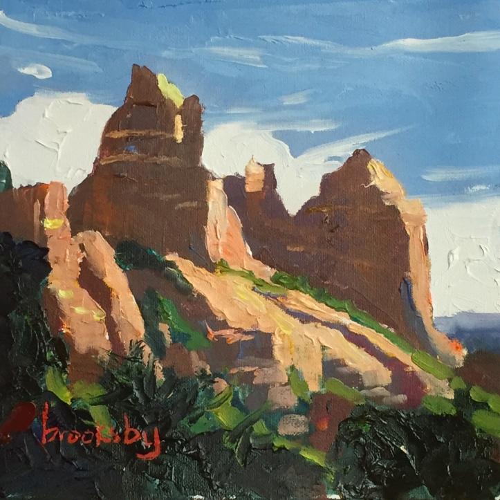 Sedona Shadows, private collection, USA
