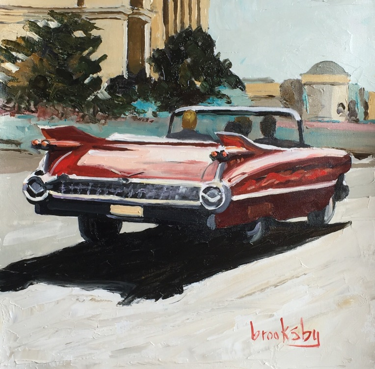 oil painting of Havana by Angie Brooksby