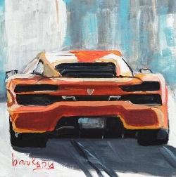 Lamborghini 13x13cm
