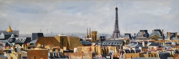 Toits de Paris, private collection