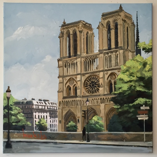 Notre Dame, private collection