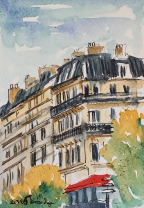 illustration of Paris