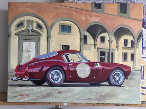 Ferrari commission, private collection